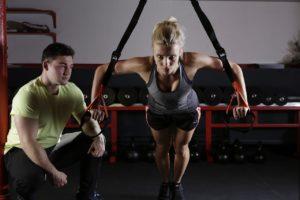 Training Bauch Frau